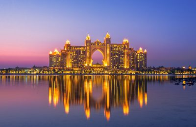 Atlantis Resort, Hotel & Theme Park at the Palm Jumeirah Island in Dubai