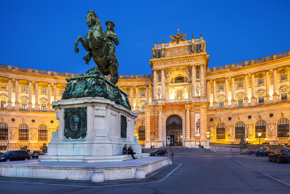Hofburg Palace was home for the most powerful people in European