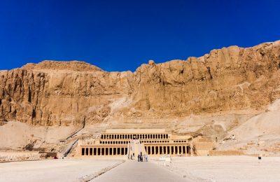 Luxor, Egypt - The temple of Hatshepsut near Luxor in Egypt