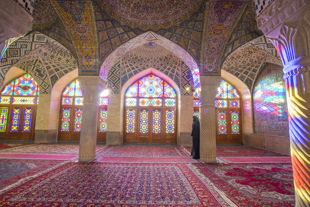 Nasir Al-Mulk Mosque in Shiraz2